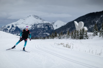 ski de fond glieres